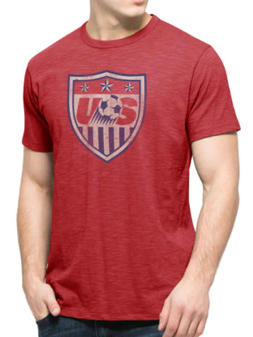 Shop USA United States Soccer National Team 47 Brand Rescue Red Scrum T-Shirt