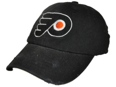 Shop Philadelphia Flyers Retro Brand Black Worn Style Flexfit Slouch Hat Cap - Sporting Up