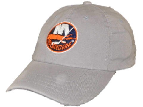 Shop New York Islanders Retro Brand Light Gray Worn Vintage Flexfit Hat Cap