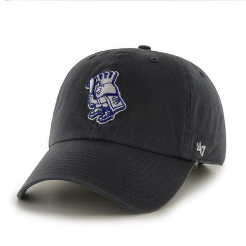 Kansas City Royals 47 Brand Navy Mr. Royal Logo Adjustable Clean Up Hat Cap