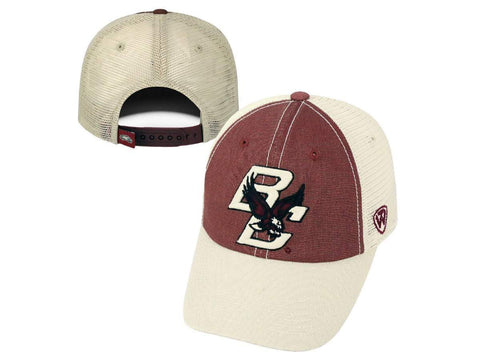 Boston College Eagles Top of the World Red Gold Offroad Adj Snapback Hat Cap