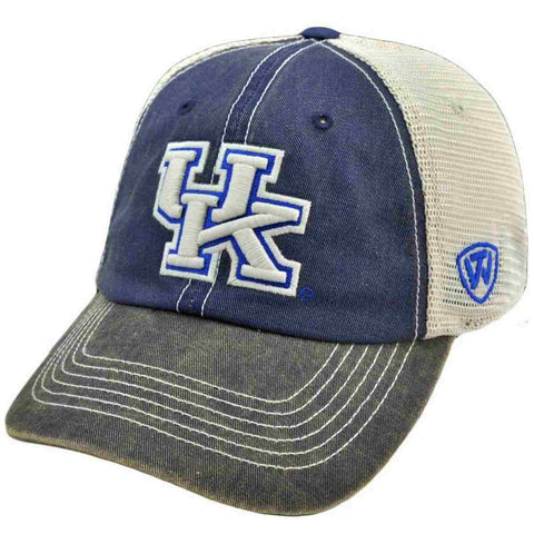 Shop Kentucky Wildcats Top of the World Blue Offroad Flexfit Hat Cap - Sporting Up