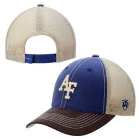 Air Force Falcons Top of the World Blue Offroad Adj Snapback Hat Cap