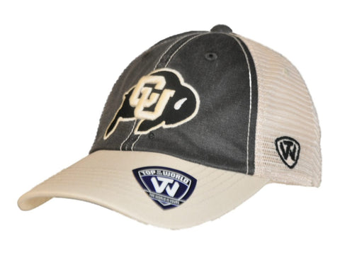 Shop Colorado Buffaloes Top of the World Black Beige Offroad Adj Snapback Hat Cap - Sporting Up