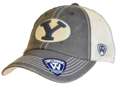 BYU Cougars Top of the World Navy Offroad Mesh Adjustable Snapback Hat Cap