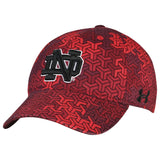 Notre Dame Fighting Irish Under Armour Youth Signal Caller HeatGear Adj Hat Cap - Sporting Up