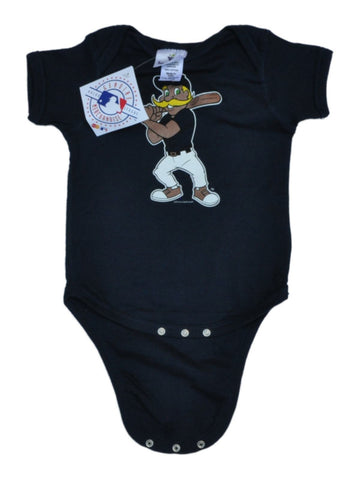 Milwaukee Brewers SAAG Navy Infant Baby Bernie Brewer One Piece Outfit