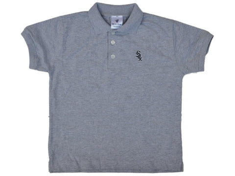 Shop Chicago White Sox SAAG Toddler Boys Gray Short Sleeve Golf Polo Shirt