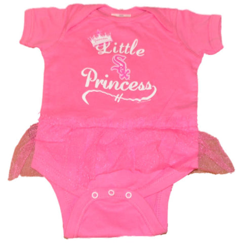 Shop Chicago White Sox SAAG Infant Girls Pink Princess TuTu One Piece Outfit - Sporting Up