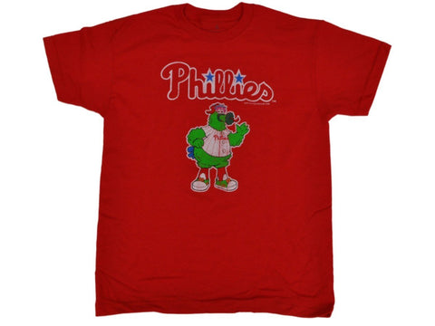 Shop Philadelphia Phillies SAAG Youth Red Character Mascot Logo Cotton T-Shirt