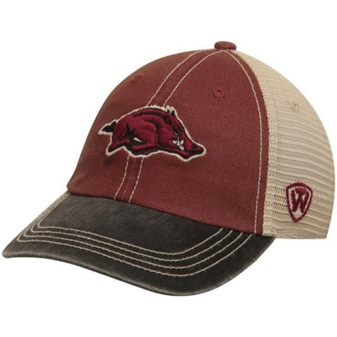 Shop Arkansas Razorbacks TOW Youth Rookie Tri-Tone Offroad Adjustable Snap Hat Cap