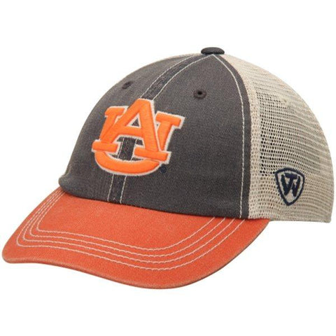 Shop Auburn Tigers TOW Youth Rookie Tri-Tone Offroad Adjustable Snapback Hat Cap