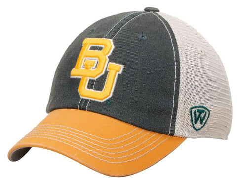 Shop Baylor Bears Top of the World Green Yellow Offroad Adjustable Snapback Hat Cap - Sporting Up