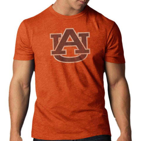 Shop Auburn Tigers 47 Brand Carrot Orange Soft Cotton Scrum T-Shirt
