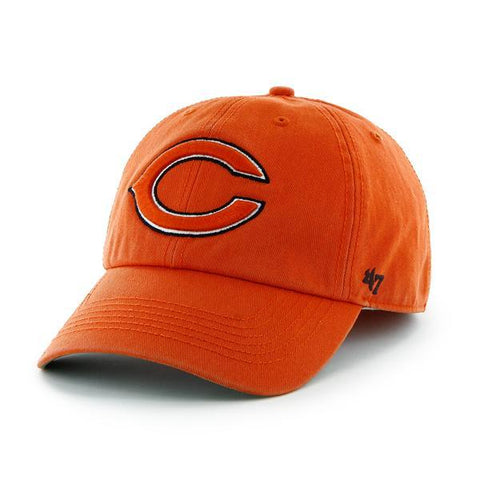 "Shop Chicago Bears 47 Brand Orange Franchise ""C"" Logo Fitted Slouch Hat Cap"