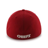 Kansas City Chiefs 47 Brand Red Franchise Fitted Slouch Hat Cap - Sporting Up