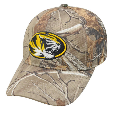 Shop Missouri Tigers TOW Camo Realtree Xtra Memory Foam Flexfit Hat Cap (M/L) - Sporting Up