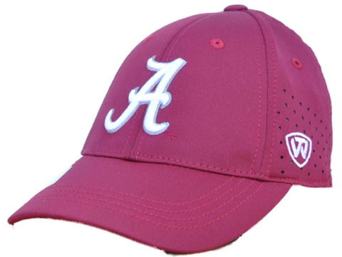 Shop Alabama Crimson Tide TOW Youth Rookie Red Jock II Performance Flexfit Hat Cap