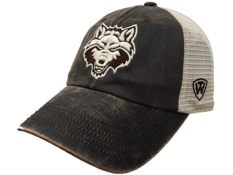 Arkansas State Red Wolves TOW Brown Scat Mesh Adjustable Snapback Hat Cap