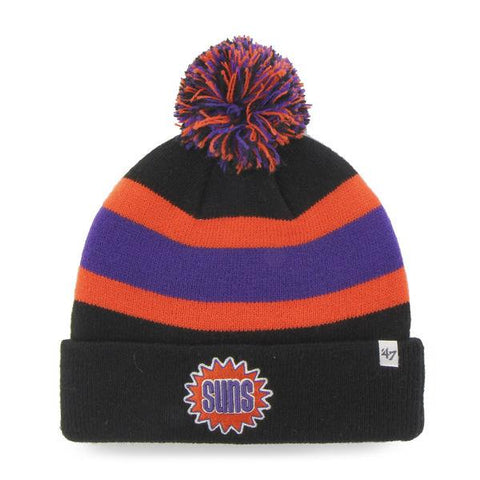 Shop Phoenix Suns 47 Brand Black Breakaway Retro 1992 Poofball Beanie Hat Cap - Sporting Up