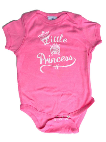 Sacramento Kings SAAG Infant Girls Pink Little Princess One Piece Outfit