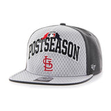 St. Louis Cardinals 47 Brand 2015 Postseason Playoffs Official On-Field Hat Cap