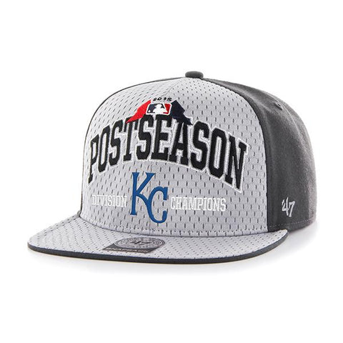 Shop Kansas City Royals 47 Brand 2015 AL Central Division Champions On-Field Hat Cap - Sporting Up