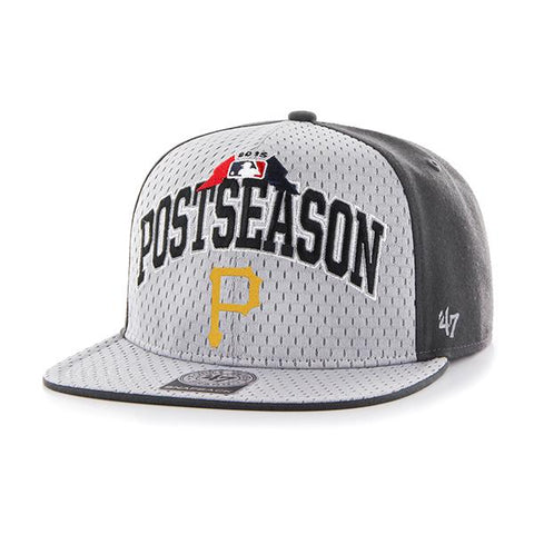 ae2cc7cb9 Pittsburgh Pirates 47 Brand 2015 Postseason Playoffs Official On Field Hat  Cap