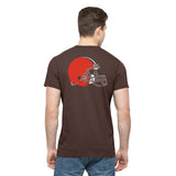 Cleveland Browns 47 Brand Brown Crosstown MVP Soft Cotton T-Shirt - Sporting Up