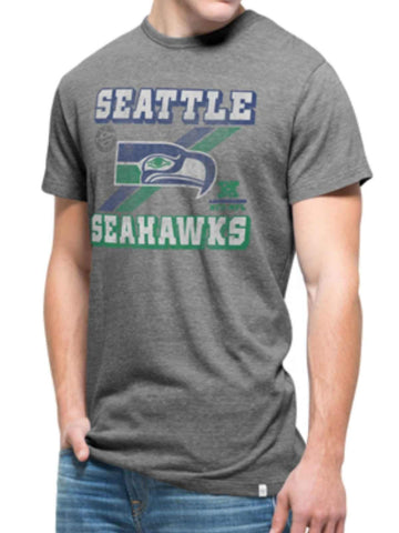 Seattle Seahawks 47 Brand Gray Legacy Tri-State Vintage Triblend T-Shirt