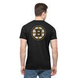 Boston Bruins 47 Brand Jet Black Crosstown MVP Flanker T-Shirt