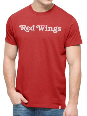 Shop Detroit Red Wings 47 Brand Rescue Red Crosstown MVP Flanker T-Shirt