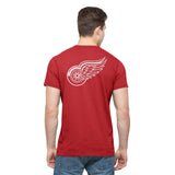 Detroit Red Wings 47 Brand Rescue Red Crosstown MVP Flanker T-Shirt
