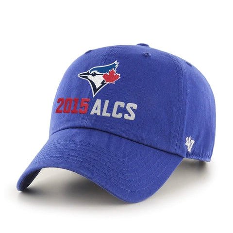 Shop Toronto Blue Jays 47 Brand 2015 MLB Postseason ALCS Adjustable Relax Hat Cap