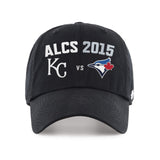 Kansas City Royals Toronto Blue Jays 47 Brand 2015 MLB Postseason ALCS Hat Cap - Sporting Up