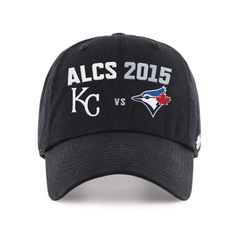 Shop Kansas City Royals Toronto Blue Jays 47 Brand 2015 MLB Postseason ALCS Hat Cap - Sporting Up