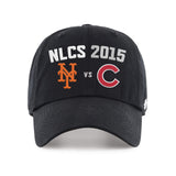 New York Mets Chicago Cubs 47 Brand 2015 MLB Postseason NLCS Relax Hat Cap