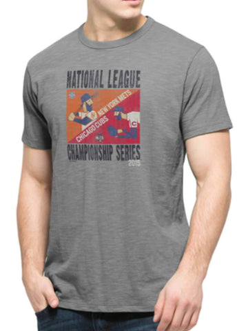 Shop Chicago Cubs New York Mets 47 Brand 2015 NLCS Postseason Player T-Shirt - Sporting Up
