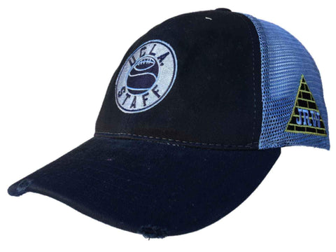 8f47d5a22 ... usa ucla bruins retro brand navy basketball staff jrw worn mesh adjust  snap hat cap 89014