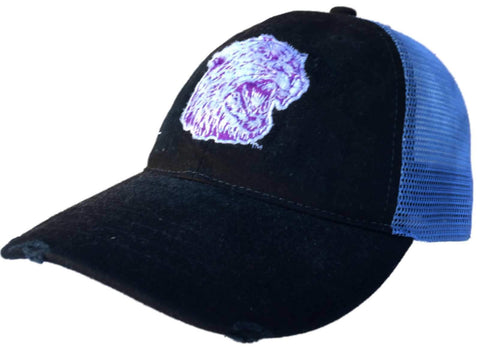 Shop Northwestern Wildcats Retro Brand Black Worn Mesh Adjustable Snapback  Hat Cap - Sporting Up