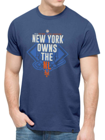 "Shop New York Mets 47 Brand 2015 National League Champs ""Owns the NL"" T-Shirt"