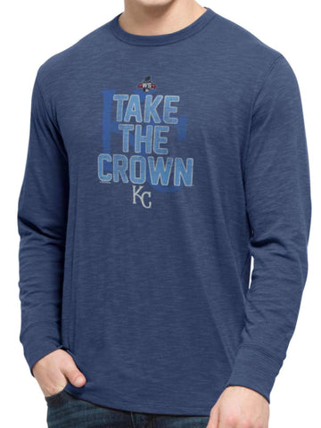 Shop Kansas City Royals 47 Brand 2015 World Series Take The Crown LS T-Shirt