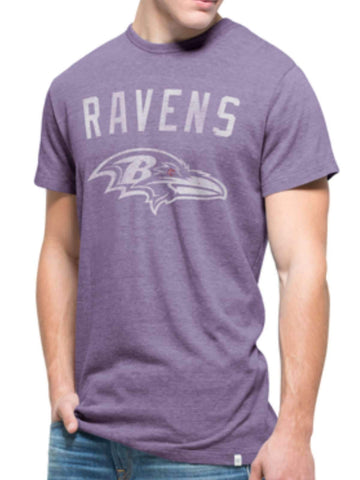 Shop Baltimore Ravens 47 Brand Purple Tri-State Legacy Tri-Blend T-Shirt
