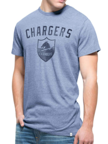 San Diego Chargers 47 Brand Blue Tri-State Legacy 1961 Tri-Blend T-Shirt