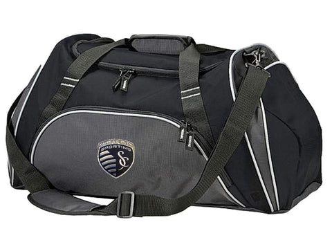 Shop Sporting KC Kansas City Antigua Action Duffel Bag with Removable Shoulder Strap
