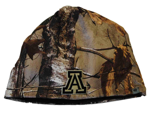 Shop Arizona Wildcats TOW Camo Brown Trap 1 Reversible Knit Winter Beanie Hat Cap