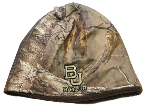 Shop Baylor Bears TOW Camo Brown Trap 1 Reversible Knit Winter Beanie Hat Cap