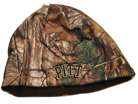Shop Pittsburgh Panthers TOW Camo Brown Trap 1 Reversible Knit Winter Beanie Hat Cap