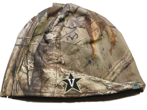 Vanderbilt Commodores TOW Camo Brown Trap 1 Reversible Knit Beanie Hat Cap