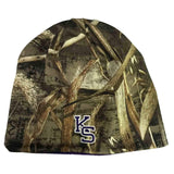 Kansas State Wildcats TOW Realtree Max5 Purple Seasons Reversible Beanie Hat Cap